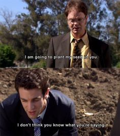 Dwight and Ryan