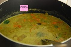 vegetable SAAGU - t & t - simple & yum South Indian Vegetarian Recipes, Indian Food Recipes, Ethnic Recipes, Cream Of Wheat, Mysore, Curries, Guacamole, Vegetables, Simple