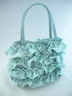 ruffles!  lol  I have a silver one just like this!