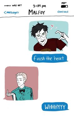 I don't even ship drarry but this is too cute