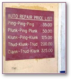 Funny pictures about Auto Repair Price List. Oh, and cool pics about Auto Repair Price List. Also, Auto Repair Price List photos. Opt In, Funny Quotes, Funny Memes, Car Memes, Funny Mechanic Memes, Car Quotes, Funny Ads, Funny Captions, Funniest Memes