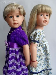 """Gotz dolls mold by S.B.Skille (Maria collectible doll 2008 /FAO and """"The First Snow"""" 2008)"""