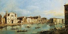 Architecture Painting - The Grand Canal by Francesco Guardi
