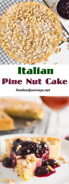 A buttery and biscuity cake with a hint of lemon, rosemary, thyme, and the surprise crunch of toasted pine nuts. Pair it with sweet wine for your next dessert, or coffee for snack and breakfast!