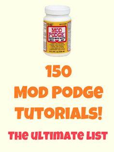 Craft Tutorials ~ Mod Podge Rocks!