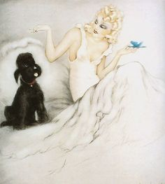 Louis Icart  'Morning Cup'