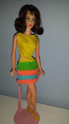 1969 Twist n Turn Barbie / www.modbarbies.com #TNTbarbie