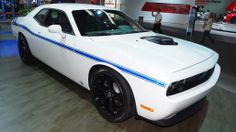 Mopar '14 Dodge Challenger at the Detroit Auto Show. Only 100 will be sold.