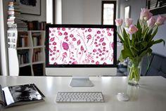woodland_watercolor_desktop_wallpaper_purple_fond_d_ecran_automne_violet