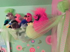 My kiddo started collectingAudobon stuffed birds last year, adding one more thing to hoard group of things to keep organized ordisplayed....