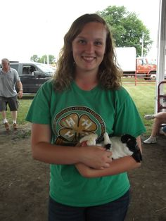 Mercer County 4-H Members showcase their knowledge of the different breeds of animals.