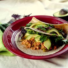 Freezing tofu before cooking gives it a crumbly texture that's perfect for these vegan tofu tacos.