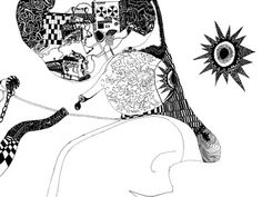 "Saatchi Online Artist John Gaffen; Drawing, ""Welcome to the machine"" #art"