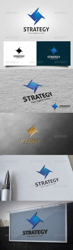 Strategy Logo (Letters)