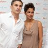 Celebs Who Tied the Knot in Secret...Halle Berry married Olivier Martinez on July 13 at Chateau des Conde in Valley, France. (Photo: Retna)