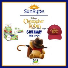 SunRype Christopher Robin Package Giveaway
