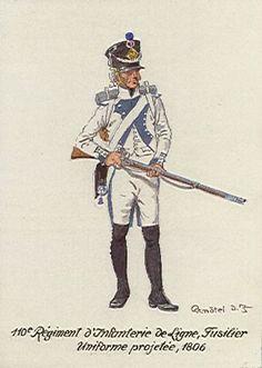 Fuciliere del 110 rgt. fanteria di linea francese