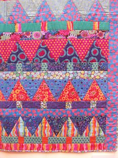 Kaffe Fassett quilt 101_0152 by claire@paintdropskeepfalling.wordpress.com, via Flickr