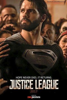 Great POSSIBLE look for the Man of Steel in the Justice League. Yum!