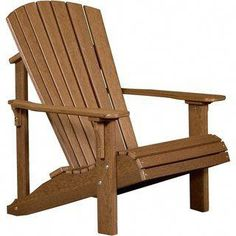 Shop for Outdoor Deluxe Adirondack Chair - Recycled Plastic. Get free delivery On EVERYTHING* Overstock - Your Online Garden & Patio Shop! Outdoor Seating, Outdoor Chairs, Outdoor Decor, Deck Chairs, Arm Chairs, Office Chairs, Accent Chairs, Dining Chairs, Rustic Chair