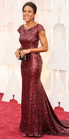 Academy Awards 2015: Arrivals : Robin Roberts