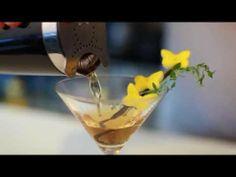 Extravagant cocktail garnishes