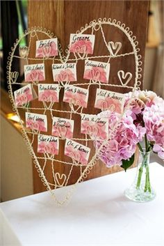 Wire heart table plan Heart Day, I Love Heart, Wedding Table, Wedding Day, Wedding Place Settings, Greek Wedding, Wedding Planning Tips, Table Plans, Wedding Stationary