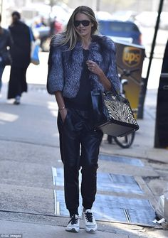 The supermodel affect: Elle Macpherson proved she still has what it takes to make heads tu...