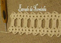 Franja e Crochê -  /  Fringe and Crochet - 1