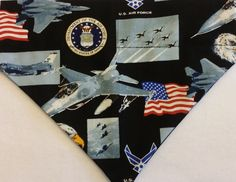 US Air Force, Dog Bandanas!! by DogGoneGoodBandanas on Etsy