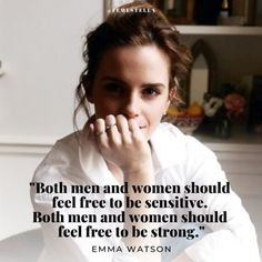 Strong Quotes 788904059709821524 - emma watson feminist quote feminism celebrity quote harry potter emma watson quote quotes Source by x_brightside_x Emma Watson Frases, Emma Watson Feminism, Emma Watson Quotes, Mood Quotes, Girl Quotes, Woman Quotes, True Quotes, Positive Quotes, Quotes Quotes