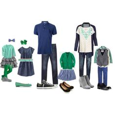 Shades of blue and green SO CUTE!