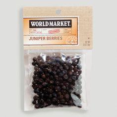 One of my favorite discoveries at WorldMarket.com: World Market® Juniper Berry Spice Bag