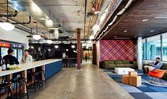 Studio O+A cria os escritórios do futuro  Sedes do Facebook e da Microsoft estão entre eles