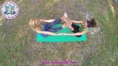 Yoga Family Violet Alignment partner