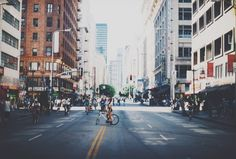 Ciclavie - Downtown LA - Cityscape Photography