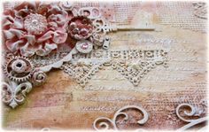 Such a Pretty Mess: A NEW Mixed Media Tutorial Video! {Featuring Dusty Attic  Tresors De Luxe Lace!}