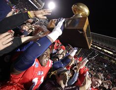 So proud of our Rebs! Egg Bowl win over State, 41-24!