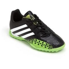 Predator Absolado LZ TRX TF Soccer Shoe (Toddler, Little Kid & Big Kid) Black/ Running White/ Ray 1.5 M Expert