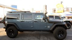 Jeep JK Six Pak Concept is the three-row family off-roader you've been hankering for