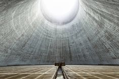 Belgian photographer Reginald Van de Velde has captured some eerily beautiful images of abandoned and active cooling towers, as well as defunct power stations throughout Europe. Cooling Tower, Water Cooling, Abandoned Buildings, Abandoned Places, Interior Design And Build, Sci Fi Films, Travel Around Europe, Tours, Photo Story