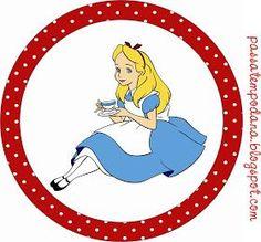 Passatempo da Ana: Kit - Alice no país das maravilhas