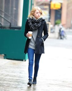 Out in New York. See all of Emma Stone's best looks.