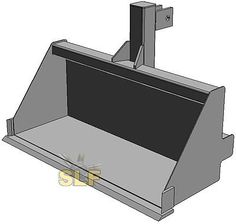 SLF CATEGORY 1 TRACTOR 3-POINT HITCH BUCKET LOADER FOR YOUR 3 POINT HITCH NEW!