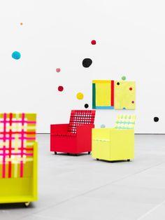 Mary Heilmann Installation