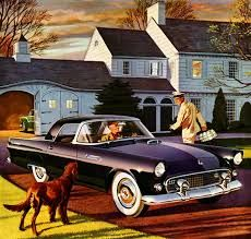 Image result for 1950s thunder bird advertisement