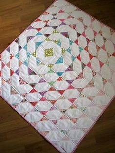 Cute quilt from a super simple block