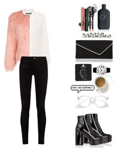 """""""..."""" by olive0live ❤ liked on Polyvore featuring L.K.Bennett, Marc Jacobs, Kobi Halperin, WithChic, Gucci, Calvin Klein, Rosendahl, Illamasqua, Bug and Chanel"""