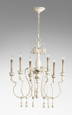 Shop the Chantel 6 - Light Candle Style Classic / Traditional Chandelier at Perigold, home to the design world's best furnishings for every style and space. Blue Chandelier, Rectangle Chandelier, Candle Chandelier, Lantern Pendant, Chandelier Lighting, French Country Chandelier, Classic Lighting, Hanging Crystals, Iron Chandeliers