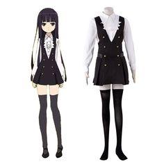 Inu X Boku SS Shirakiin Riricho 3RD Cosplay Costumes Deluxe Edition